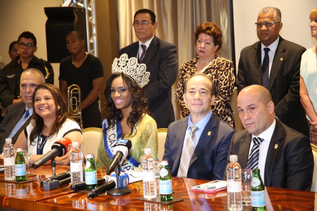 Las autoridades de turismo de Panamá en rueda de prensa informaron detalles de las actividades 2015