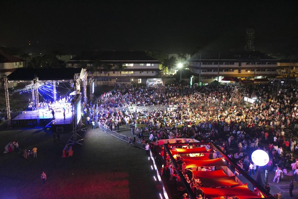 Más de 25,000 personas asistieron al evento.