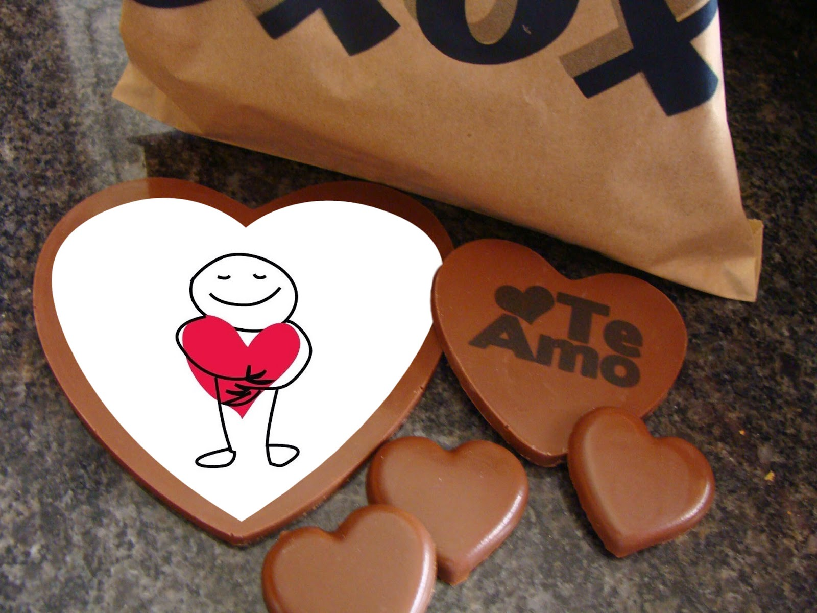 chocolates dia del amor