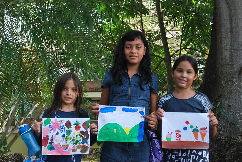 Niños de entre 5 y 12 años participaron durante todo el mes
