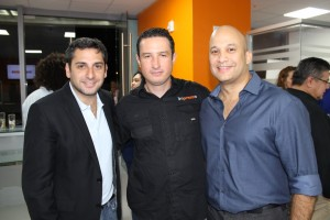 David Benaim, Albenis Gómez y Marco Ocando