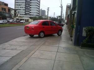 auto mal estacionado panama 2