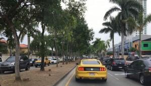 El choque causó gran congestionamiento en el Corredor Sur, y esto repercute directamente en las calles aledañas a las salidas y entradas de CDE | Foto: Natalia Carvajal