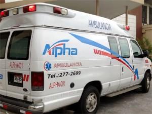 Foto: Alpha Ambulancias