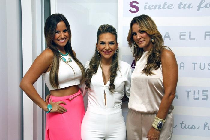 Andrea Meana, Karem Feris y Ana Gabriela Delgado | Foto: Javier Villasmil