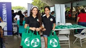 Las bolsas ecológicas son una manera de contribuir con el ambiente | Foto: Aydana Ruiz