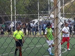 Presidente Evo Morales muestra sus hazañas como futbolista | Foto: Cortesía