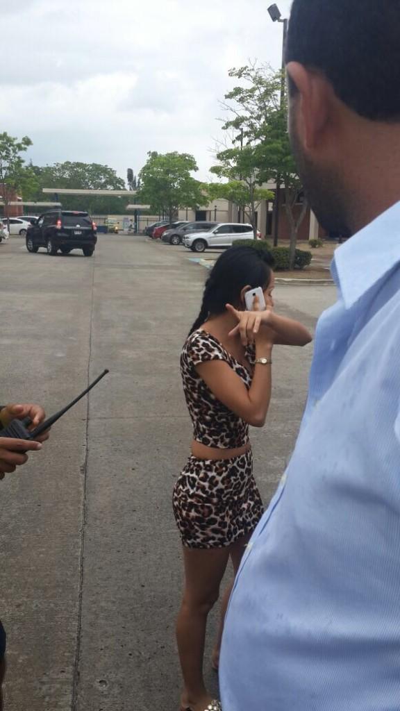 Las dos jóvenes que intentaron perpetrar el robo fueron detenidas | Foto: Cortesía