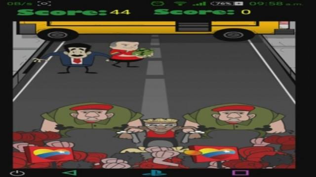El juego ya ha sido descargado más de 1000 veces | Foto: TVN