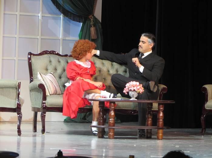 Annie es la tercera obra montada por el teatro Parroquial San Lucas