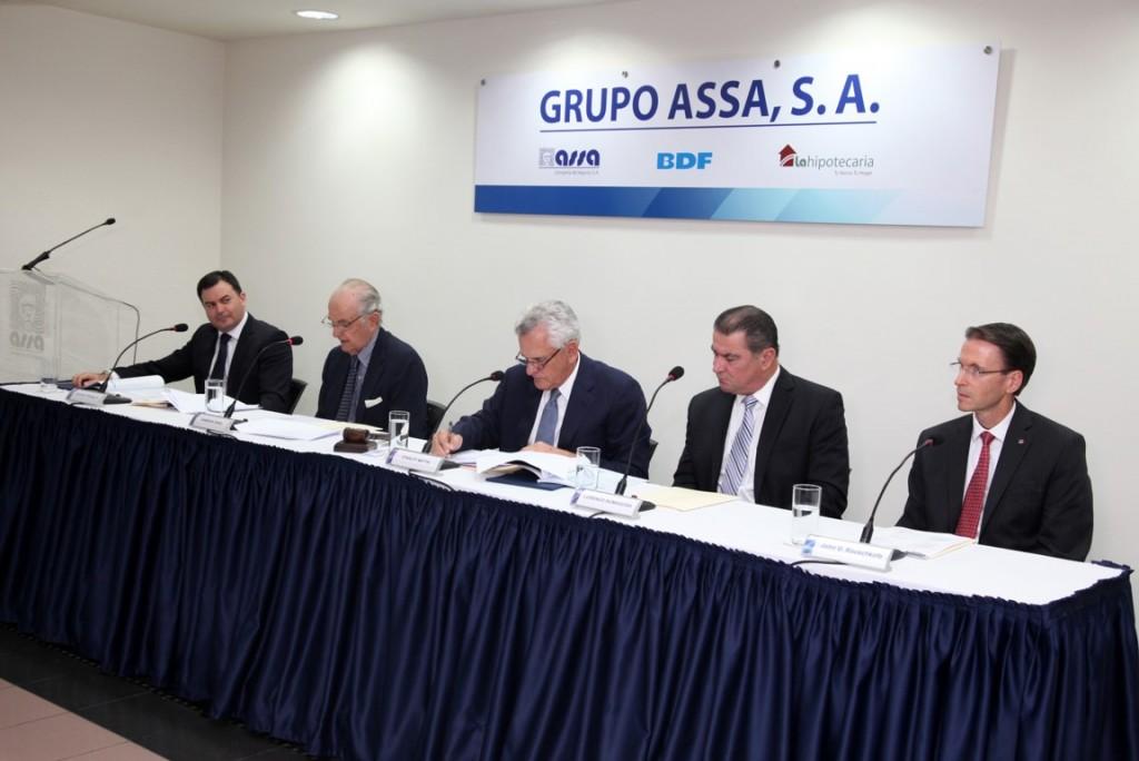 Junta anual de accionistas 2015. Grupo Assa