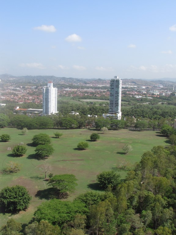 Vista aérea del Parque Motta   Foto: Aydana Ruiz
