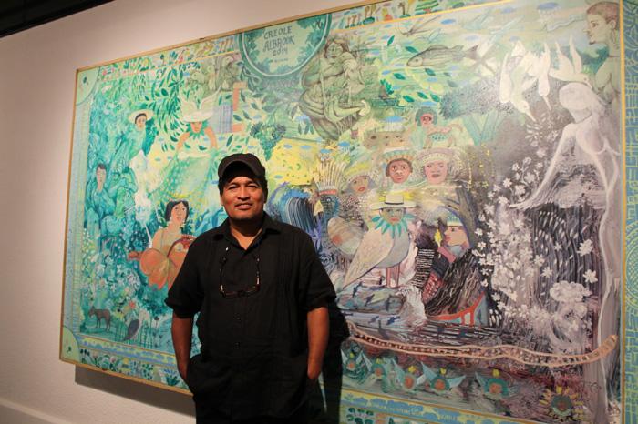 Aristides Ureña plasma la inconformidad social en cada una de sus piezas