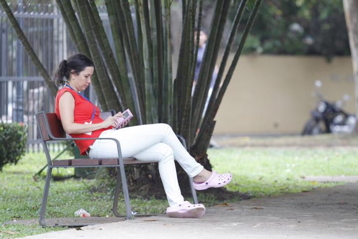 Parque benito ju rez el central park del nuevo reparto el - Un lugar para meditar ...