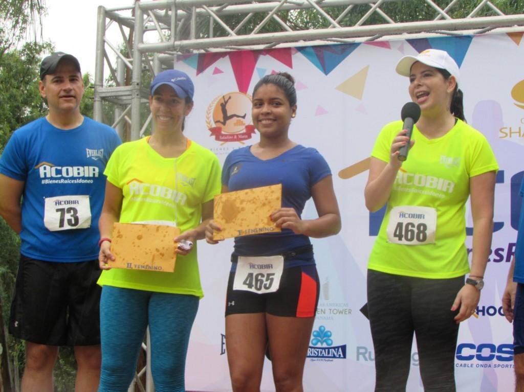 También fue premiada las categoría femenina | Foto: Aydana Ruiz