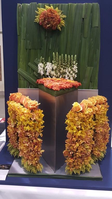En esta edición, fueron presentados arreglos florales alusivos al Canal de Panamá | Foto: Aydana Ruiz