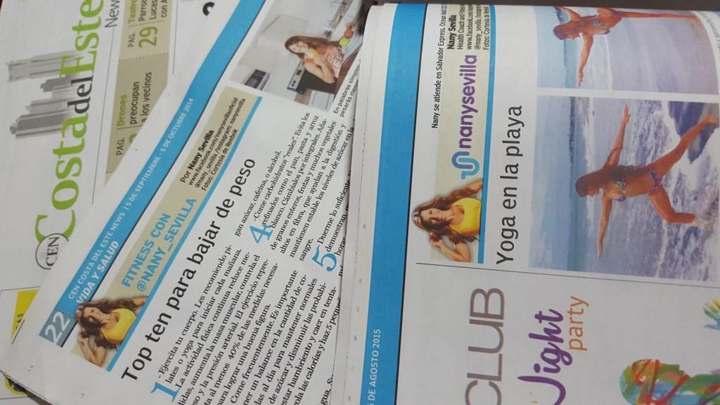 Nany ahora está en impresos, radio, on line y tv¡Nany es #GenteCDENews!