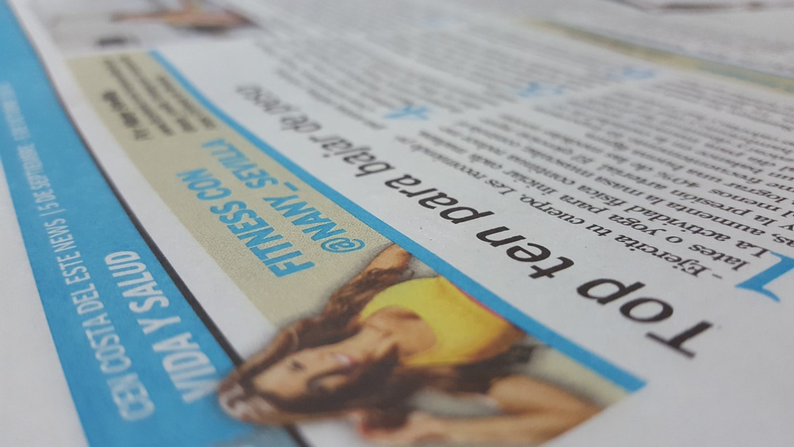 Todos los meses Nany Sevilla ofrece sus consejos a los lectores de Costa del este News