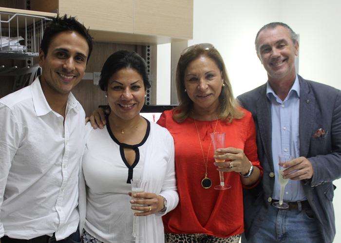 Pedro Alonso, Ayurami Mujica, Olga Fuentes y Luis Calvo