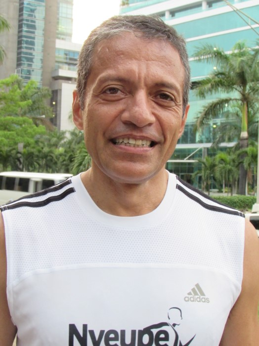 Fernando Blanco, director de Costa del Este Running   Foto: Aydana Ruiz