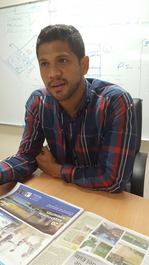 Carlos Eduardo Rodríguez | administrador de proyectos, Dirección de Planificación Urbana de la Alcaldía de Panamá.