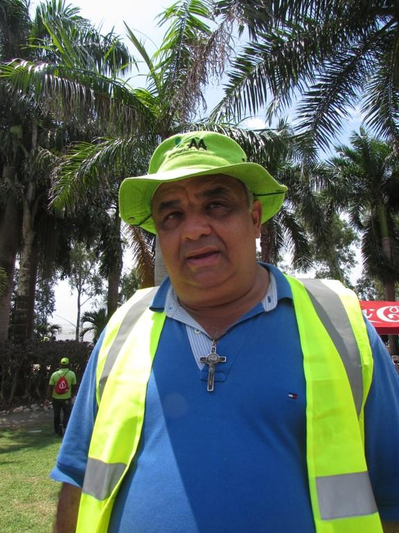 Julio Trejo, director de Operaciones AAUD | Foto: Aydana Ruiz