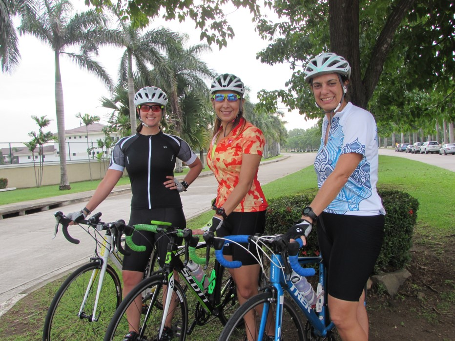 Anabella Derlon, Gismary Laya y Carolina Terife.