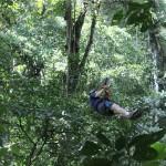 Haga canopy en el Chorro de El Macho.
