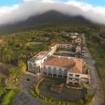 Vista aérea del hotel Los Mandarinos.