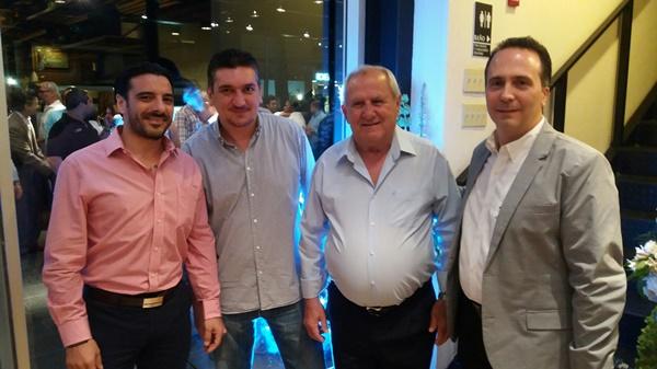 Konstantinos Androutsos, Pavlos Androutsos, Leonidas Kakoutis, Gianfranco Petrella