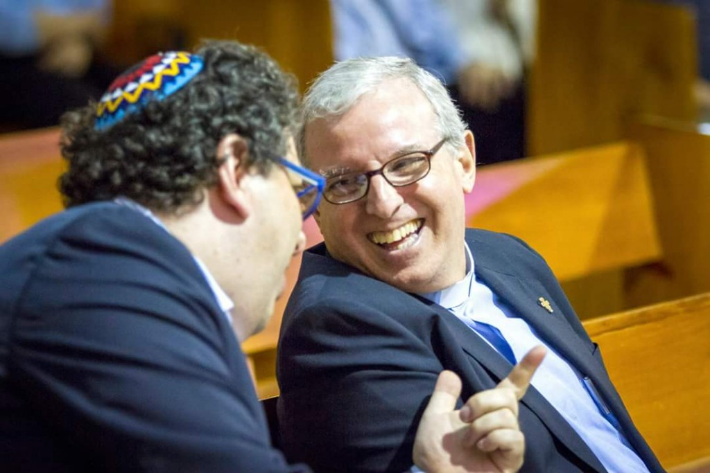 Ambas comunidades, judío y católicxa de CDE, adelantan trabajo sociales en beneficio de grupos de escasos recursos | Foto: cortesía
