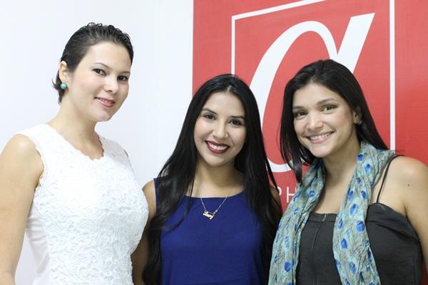 Betzy Mayorga, Laury Zea y Yólise Páez
