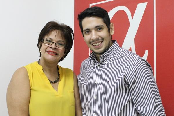 Jadira de Leaño y Eduardo Canelones