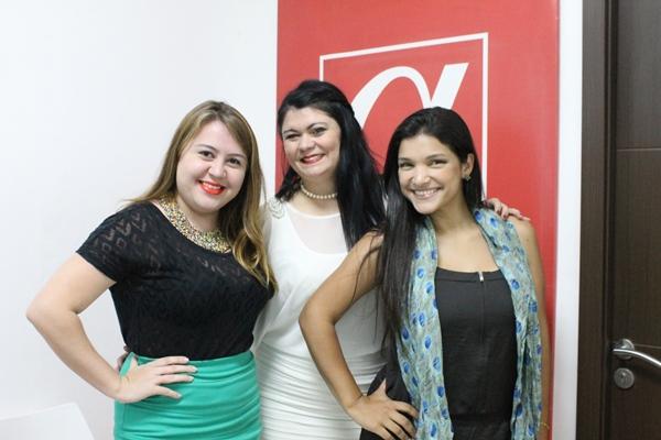 Mariana Cordero, Nervis Araujo y Yólise Paéz