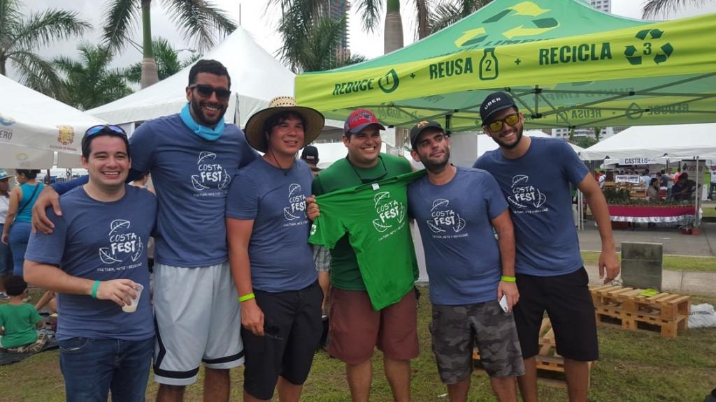 Fundación Costa Recicla, organizadores del Costa Fest 2016 | Foto: AR