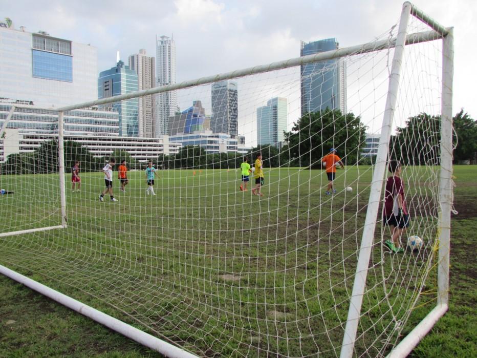 Los equipos que entrenan en el parque continuarpán sus rutinas sin problemas | Foto: AR