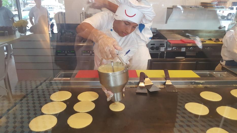 Las pancakes son el platillo emblemático   Foto AR
