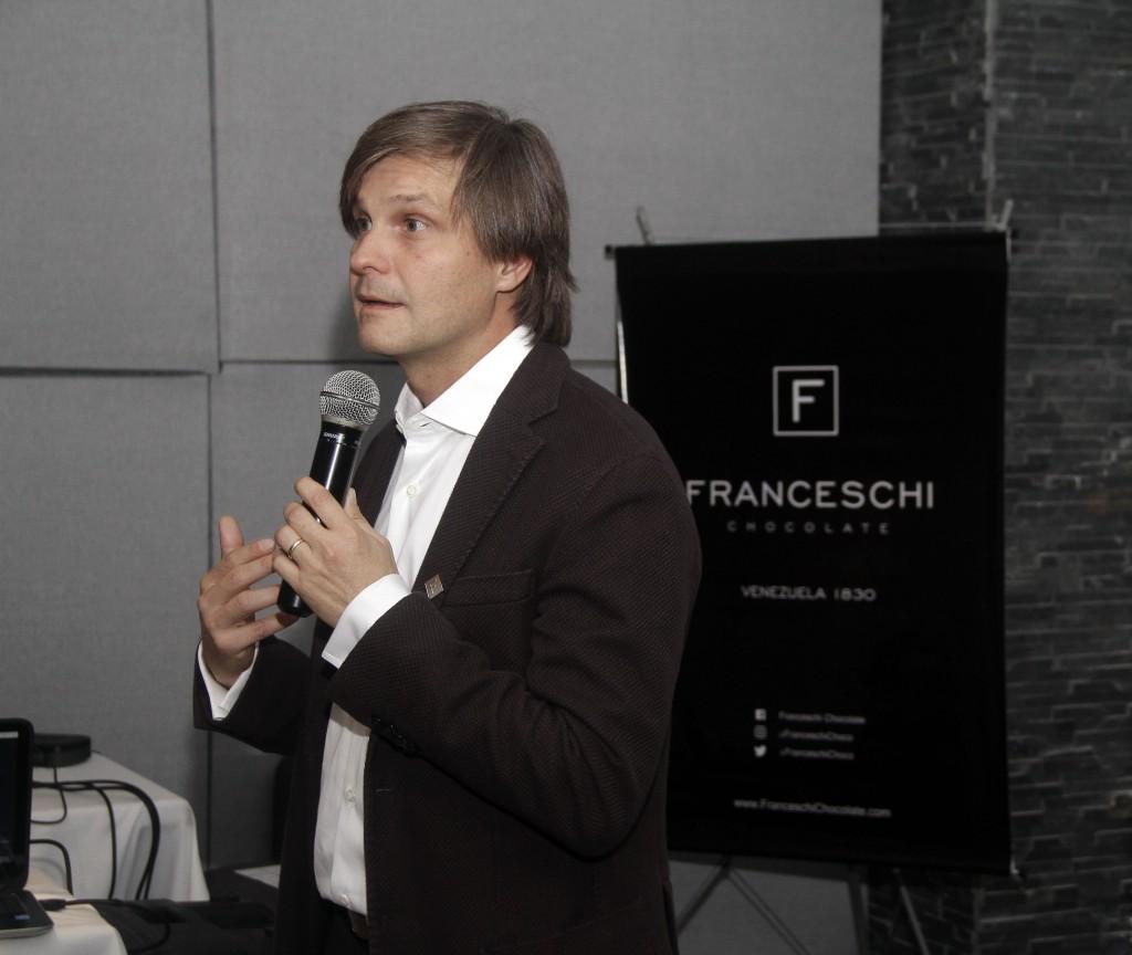 Alberto Franceschi, presidente de Chocolate Franceschi.