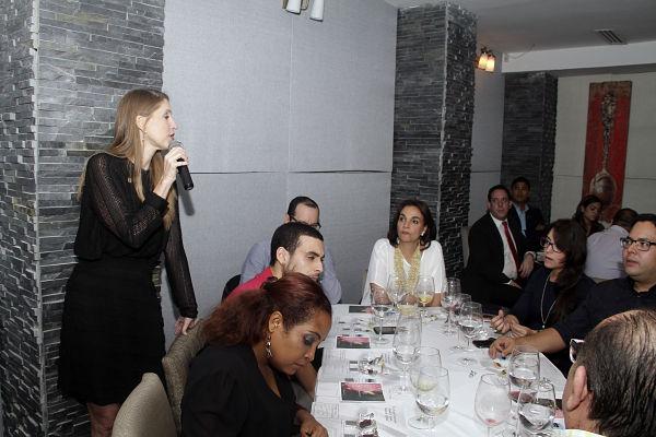 Azahar Restaurante, ubicado en El Cangrejo, fue el lugar del lanzamiento del fino chocolate. Claudia Franceschi, gerente de Mercadeo de Franceschi estuvo a cargo de la presentación.