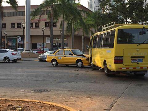 Es muy frecuente que en las colisiones haya taxistas involucrados