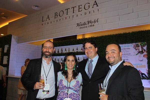 Miguel García, Patricia Porras, Manuel Sosa y Manuel Castillero