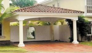 Residencia donde vivia el embajador de Nicaragua en Panama Antenor Ferrey.. foto cortesia de TVN
