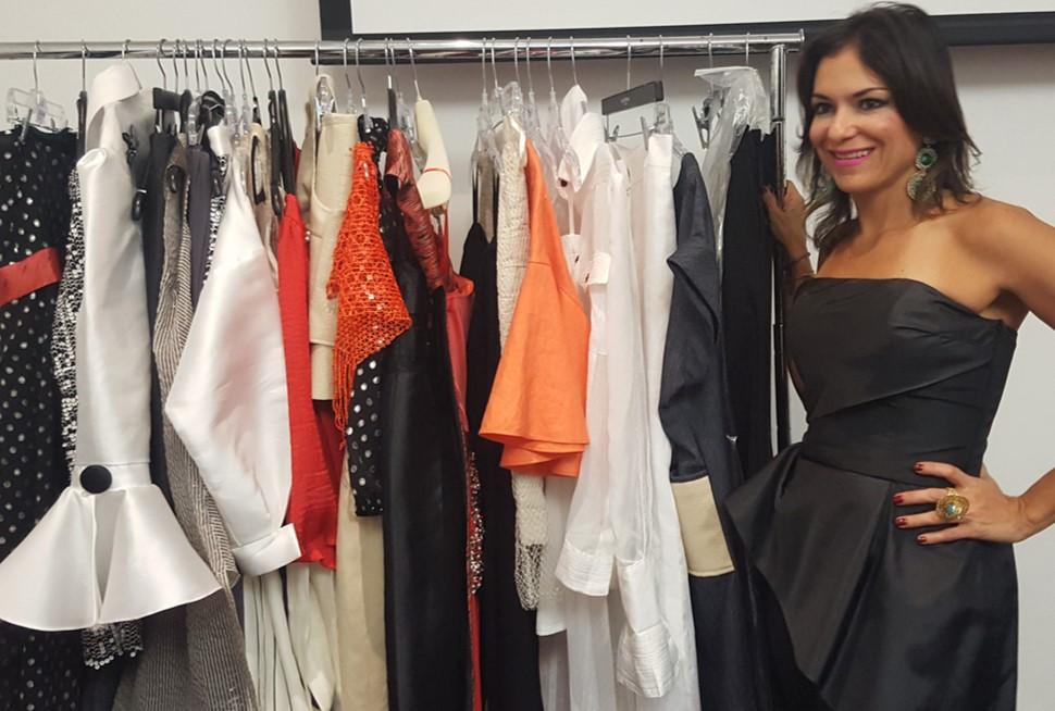 Edda González, diseñadora de modas | Foto: AR