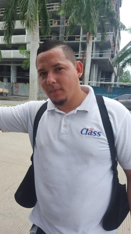 José Vega, trabajador | Foto: CDE News