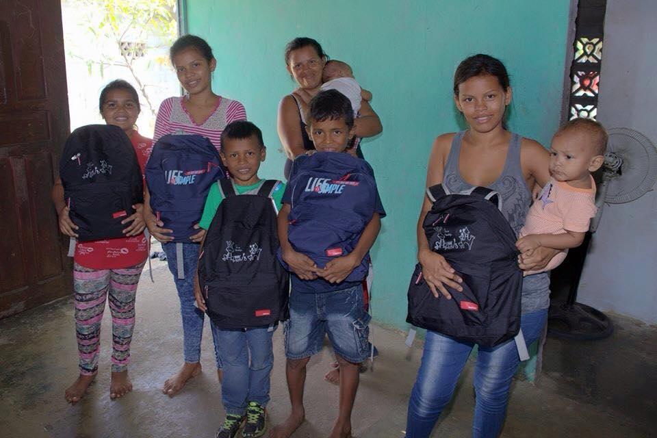 Ladies Solidarias hace un estudio social de la familia candidata a recibir las donaciones para garantizar que le den un buen uso y los beneficiarios aprovechen la oportunidad que se les brinda.