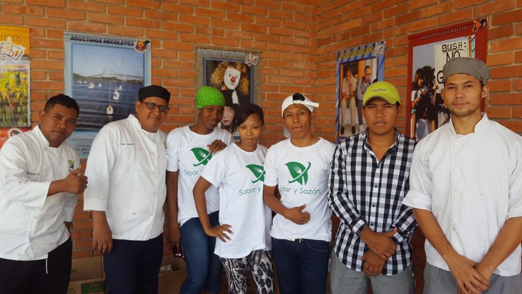 Parte del grupo se trasladó hasta Costa del Este   Foto: CDE News