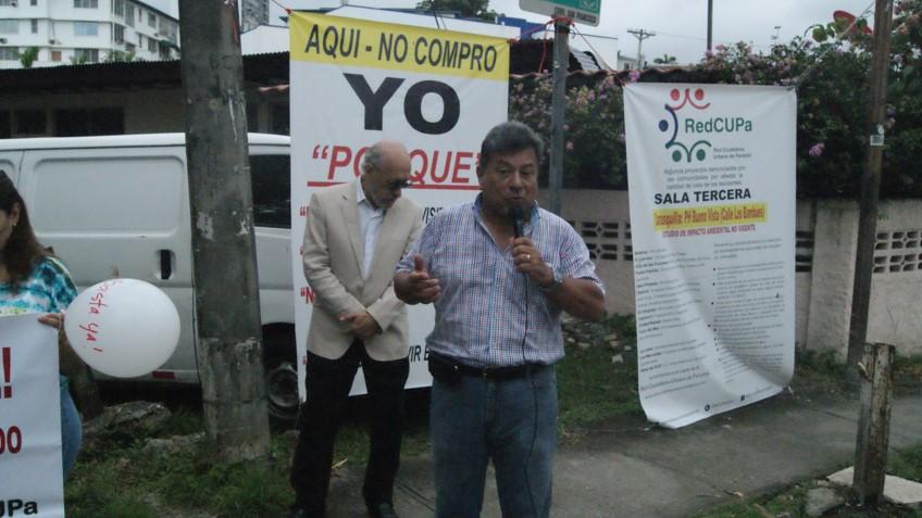Los vecinos expusieron las razones de su rechazo a la construcción del edificio | Foto: Octavio Quirós