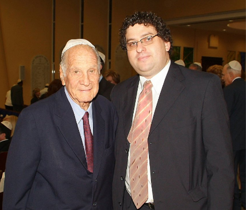 Junto a Alberto Motta, uno de los mayores colaboradores de KSI   Foto: cortesía