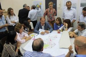 Representantes de las comunidades se incorporaron a las diferentes mesas de trabajo.