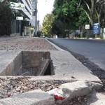 Cajas pluviales o de cableado sin tapa cerca a ILDEA en Calle 58 Obarrio
